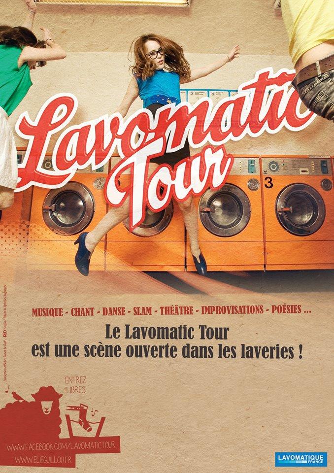 Affiche Lavomatic 2014